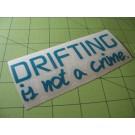 driftingisnotacrime